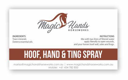 Magic hands horseworks hoof hand and ting spray magic hands horseworks magic hands horseworks hoof hand and ting spray reheart Gallery